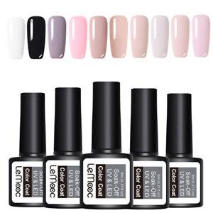 LEMOOC-10Pcs-8ml-Nagel-Gellack-Gel-UV-Soak-Off-Nail-Art-UV-Gel-Polish-Kit-Lot