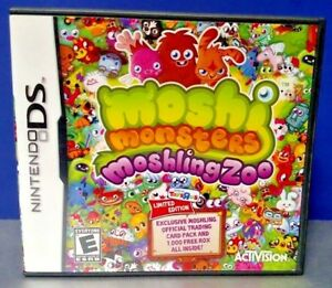 Moshi-Monsters-Moshling-Zoo-Nintendo-DS-DS-Lite-3DS-2DS-Game-Tested