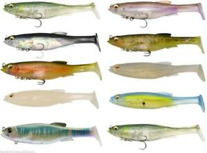 """25 4/"""" Shad Bodies Paddle tail Swimbait Great for Umbrella Rigs"""
