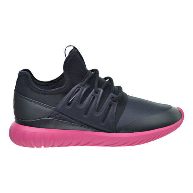 coupon codes huge selection of huge sale Adidas Tubular Radial Men's Shoes Core Black-Equipment Pink s75393