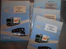 RVI Renault autocar FR1 : lot de documents technique CEPTEC