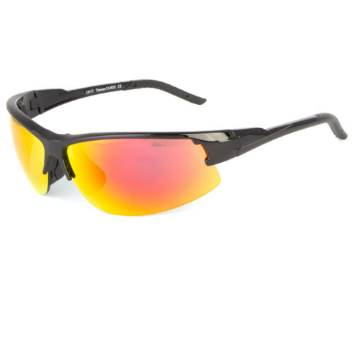 CLEAR VISION SPORTS SUNGLASSES MIRROR LENS WRAP AROUND GLASSES