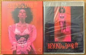 Mas-alla-de-la-puerta-III-3-Blu-Ray-Dvd-Rare-Fuera-de-imprenta-Slipcover-sindrome-de-vinagre