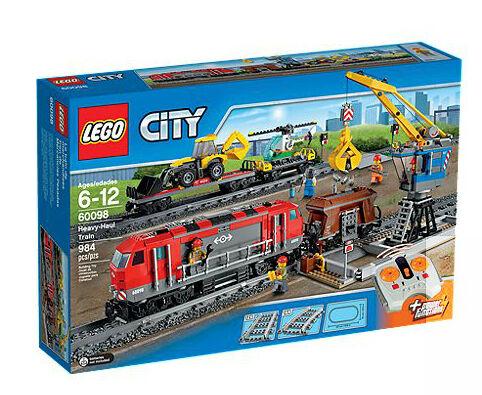 LEGO City Heavy-haul Heavy-haul Heavy-haul Train 60098 NEW 197fed