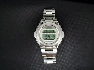 Rare-CASIO-Vintage-Digital-Watch-1569-MRG-100-500-STAINLESS-200M-DIVER-G-SHOCK