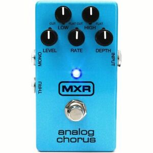 New-Dunlop-MXR-M234-Analog-Chorus-Guitar-Effects-Pedal-Blue-w-Free-Shipping