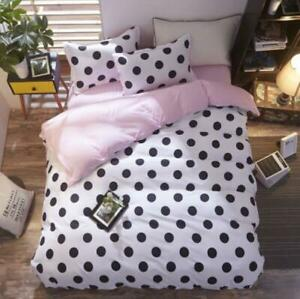 3D Black And White Dots KEP8638 Bed Pillowcases Quilt Duvet Cover Kay