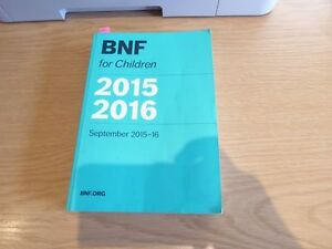 BNFC  British National Formulary For Children  BNF For Children 20152016 - <span itemprop=availableAtOrFrom>leeds, West Yorkshire, United Kingdom</span> - BNFC  British National Formulary For Children  BNF For Children 20152016 - leeds, West Yorkshire, United Kingdom