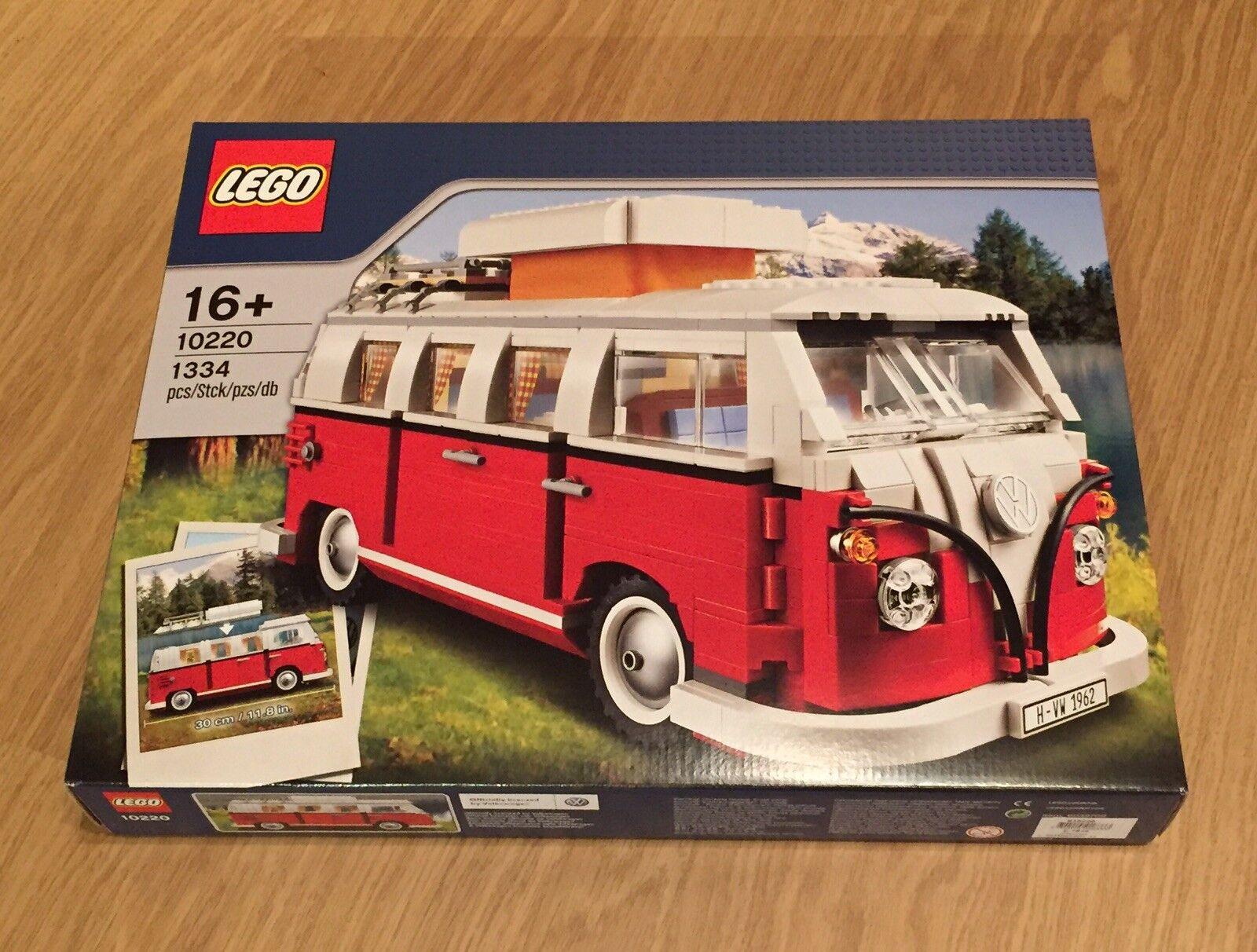 LEGO 10220 Advanced Models Volkswagen T1 Camper Van. Brand New. Sealed box.