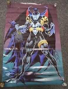Batman Poster, 1993 DC Comics, Kelley Jodes and Nowlan