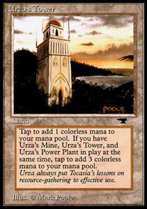 ~ Heavily Played Antiquities MTG Magic UltimateMTG Land Mountains Urza/'s Tower