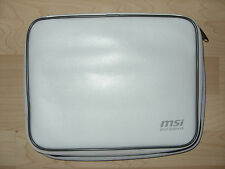 MSI WIND U100 Netbook Tasche weiß Notebook Tasche Hülle Case original MSI
