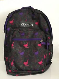 05d6eb798061 Image is loading Trans-By-JanSport-Backpack-Adjustable-School-Book-Laptop-