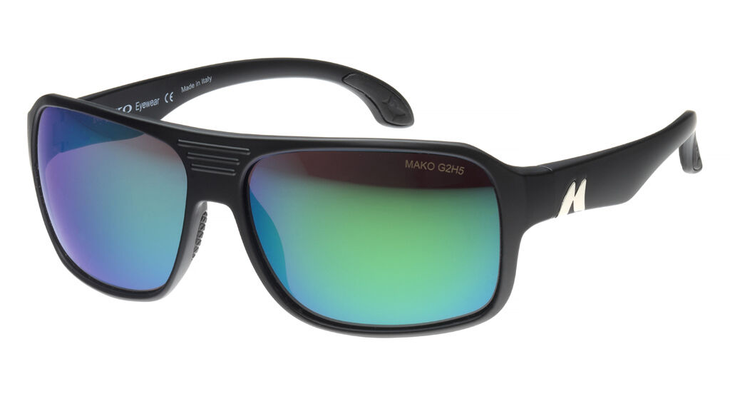 Mako RONIN - pink Glass Green Mirror Sunglasses Polarised 9602  + Shirt +Warranty  up to 60% discount