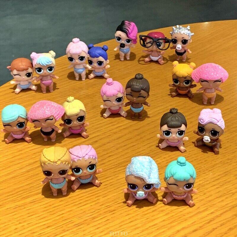 Raro Lote Lote Lote De 20 Muñecos lol sorpresa Lil Cosplay Club Cristal Splash reina Muñeca Sduk  a la venta