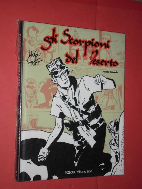 HUGO PRATT - SCORPIONI DEL DESERTO N° 2 -1° edizione 1992 RIZZOLI -milano libri