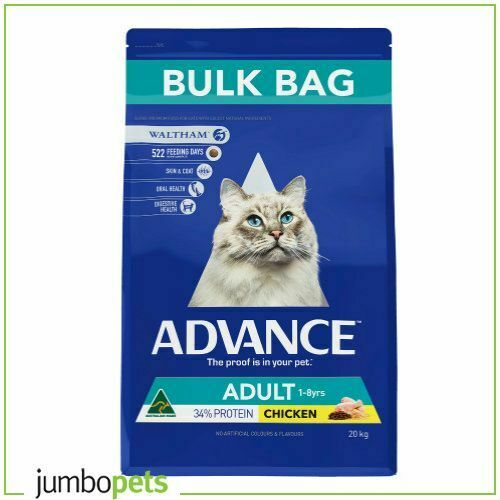 Advance Cat Adult Chicken Dry Cat Food 20kg