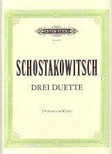 100% Waar Shostakovich Duets (3) Violin Een Plus Een Gratis