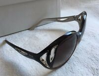 Emilio Pucci Oversized EP683S 037 Gray Frame/Gray Lens 58mm Sunglasses NEW