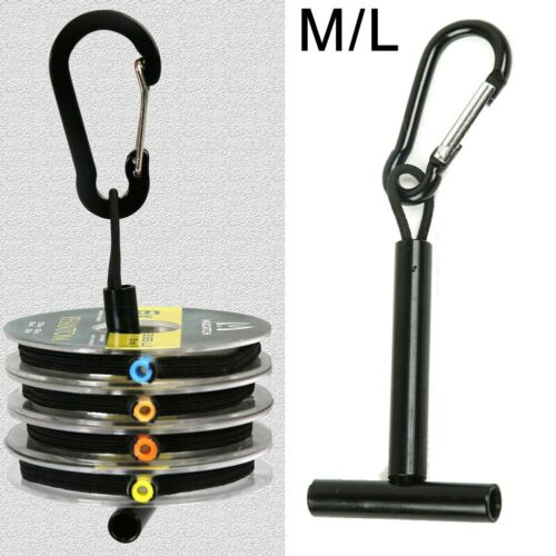 M//L T Holder TIPPET SPOOL HOLDER Tool 1pc Black Lightweight Fly FISHING