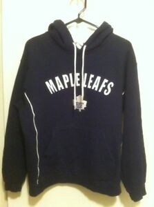 free shipping 5e5cb 72551 Details about Nhl Adult Size S Toronto Maple Leafs Hoodie Dark Blue
