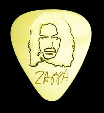 FRANK ZAPPA - Solid Brass Guitar Pick, Acoustic, Electric, Bass