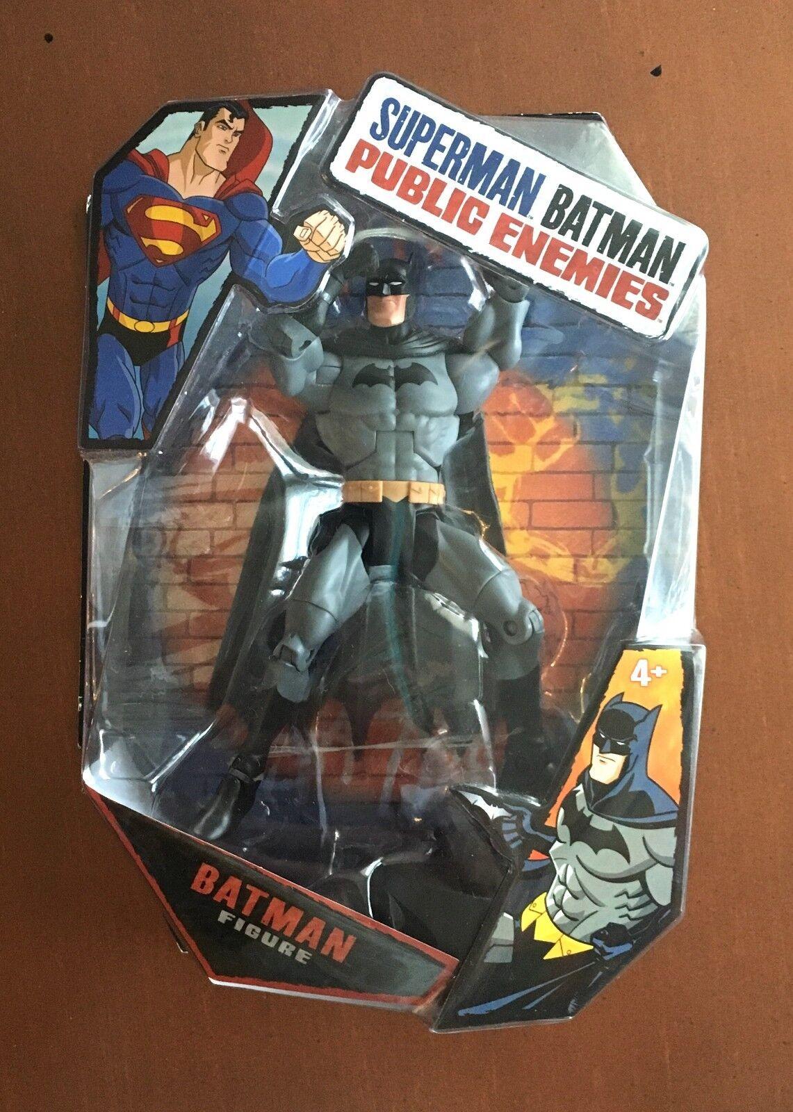 Neuf DC ennemis publics Batman Figurine Mattel