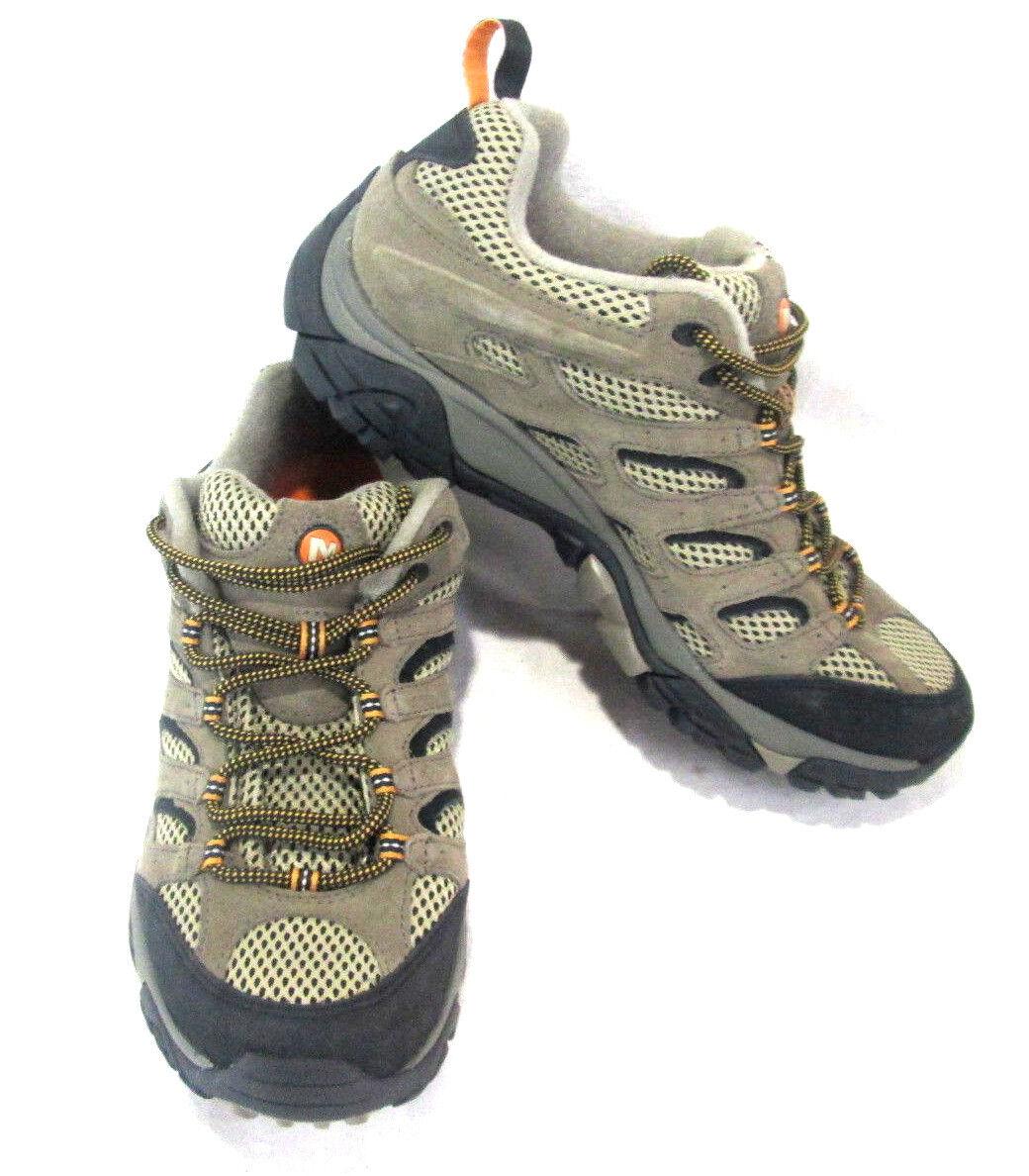 Merrell Walnut Mens Hiking Trail Walking schuhe Continuum Vibram Soles Größe 10