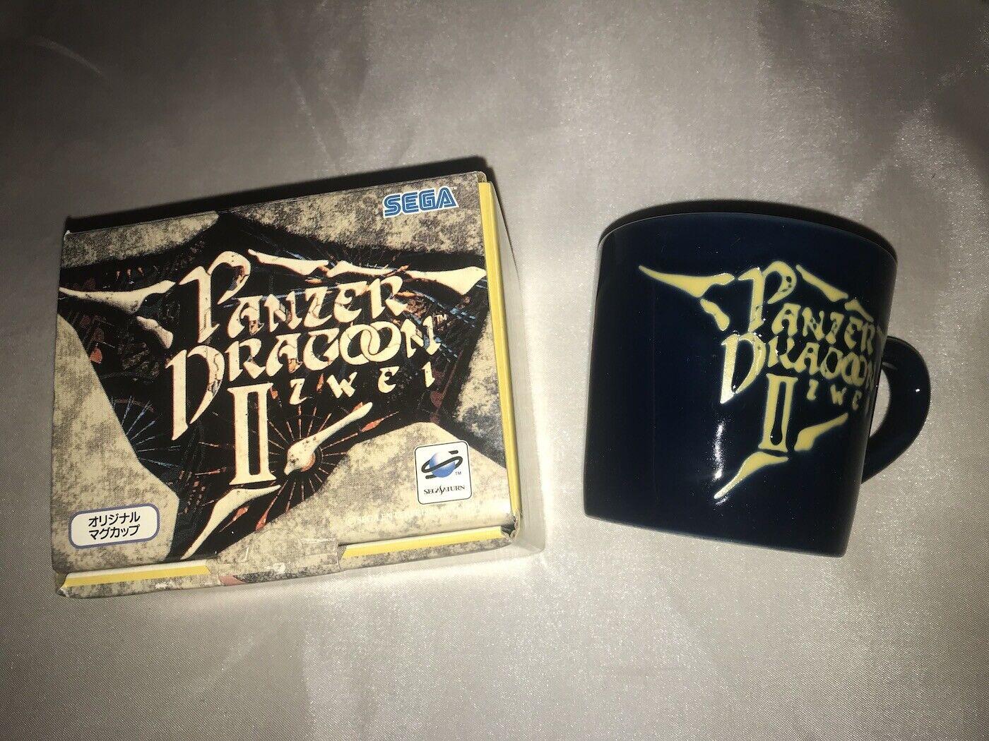 PANZER DRAGOON II ZWEI Promo SEGA SATURN MUG  CUP Japan Jap Jp NOT FOR SALE Rare  Commandez maintenant
