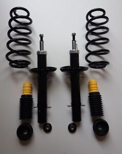 1J2 98-05 2.0 STD 2x Bilstein B4 Pair Rear Shocks Absorbers VW BORA