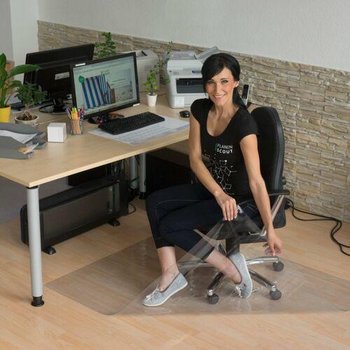 Bodenschutzmatte transparent Lysel® Bürostuhlunterlage
