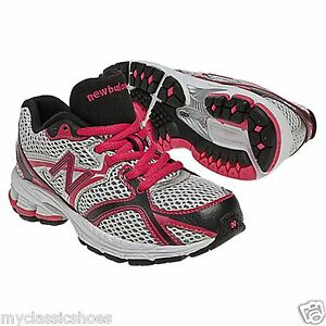 New Balance Womens Trail Shoes Grey Pink