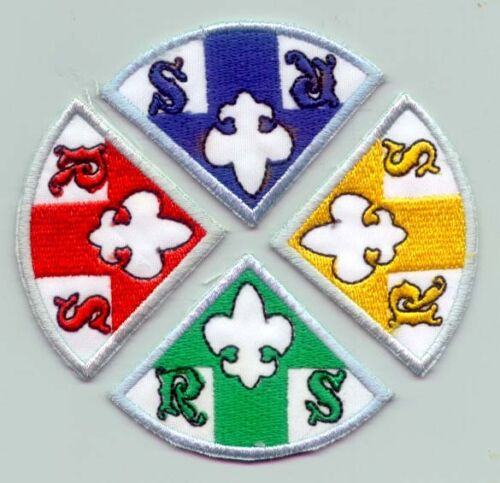 BSP Rover Scout Advancement Rank Award Patch SET BOY SCOUT OF PHILIPPINE