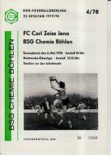 OL-AR 81//82  BSG Chemie Böhlen FC Union Berlin 1