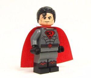Lego Custom LEGO - - - - SUPERMAN RED SON - - - batman ... Red Son Justice League