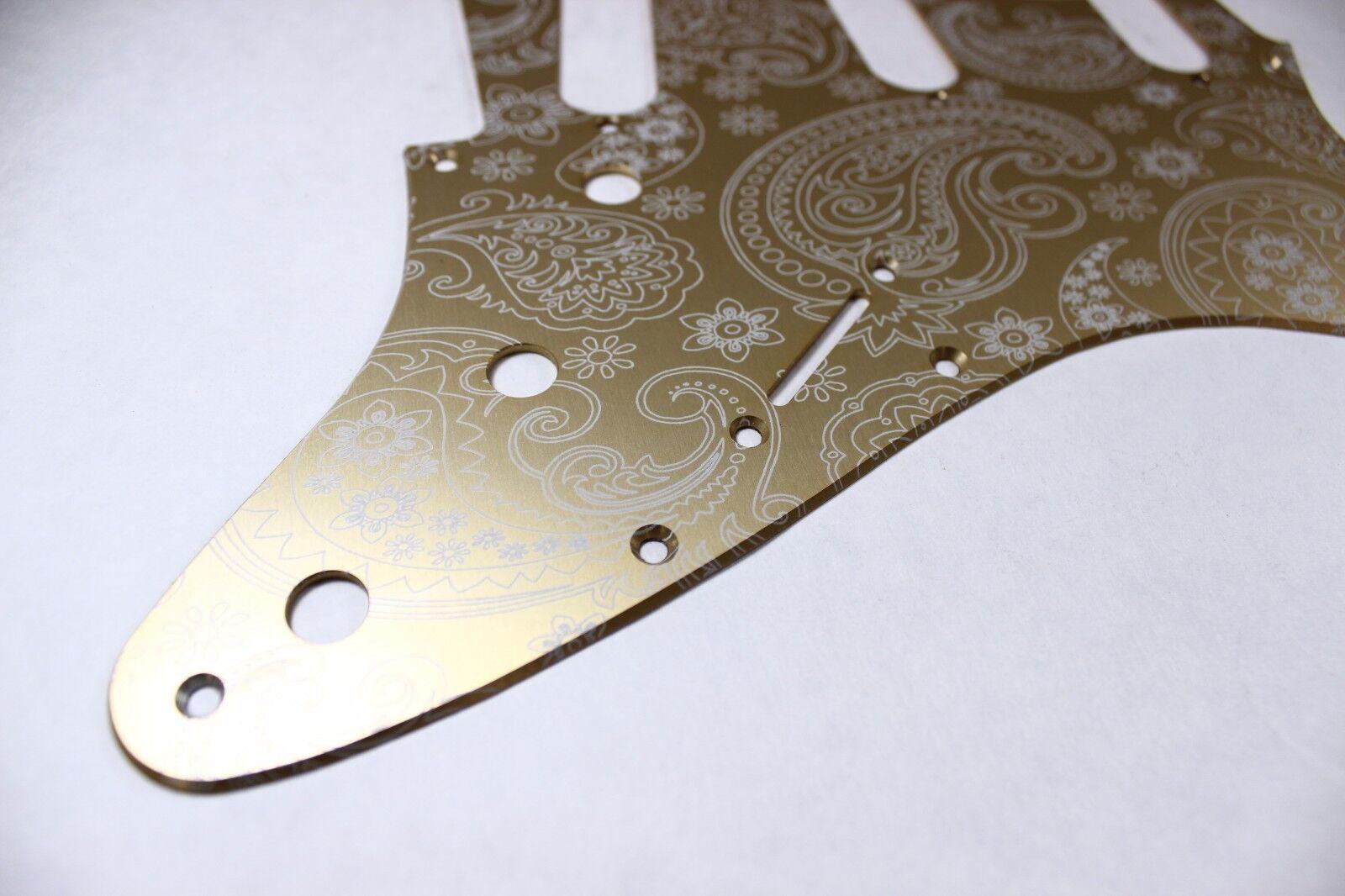 Custom Floral Paisley Purple Burst Pickguard fits Fender® Stratocaster® Strat®