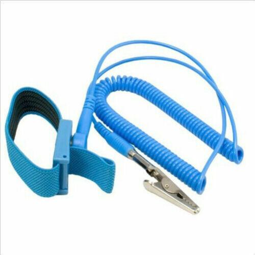 New Anti-static Antistatic ESD Ground Strap Wrist Band Grounding Bracelet