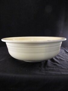 Vintage-FIESTA-Vegetable-Serving-Bowl-Nappy-8-1-2-034-Original-Yellow