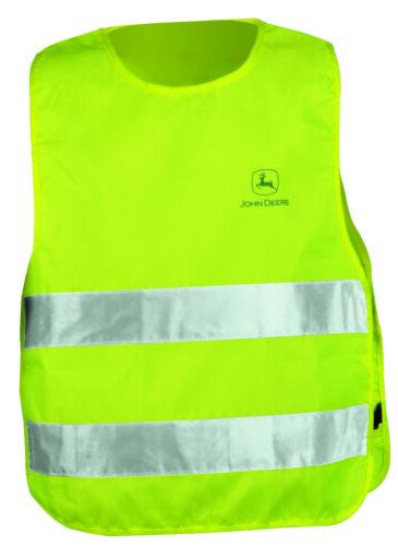 John Deere Childrens Hi Visibility Safety Vest One Size MCJ099199269