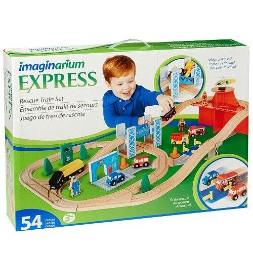 promociones de descuento Imaginarium Conjunto de tren de rescate con con con colapsando puente 54 piezas-Envío Gratis  alta calidad
