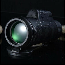 New 35x50 Night Vision Adjustable Zoom Monocular Telescope Camping Hunting US