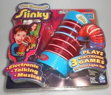 Electronic Slinky Plays 3 Electronic Games Music Spin Master New Sealed