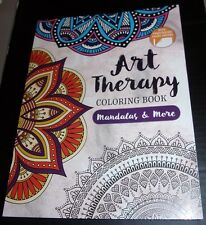 Art Therapy Mandalas And More Adult Stress Relief Coloring Book
