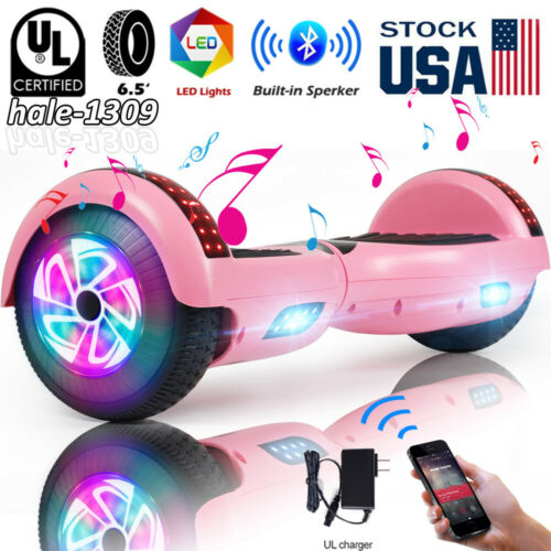 """6.5/"""" Bluetooth Hoverboard LED Self Balancing Scooter UL2272 Two Wheel no Bag"""