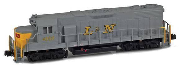 AZL Z Scale Locomotive L&N GP38-2 Road Number 4050