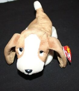 8f70b9f5c62 Image is loading Beanie-Baby-TRACKER-Dog-w-ERROR-RETIRED-EXCELLENT-