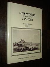 SITES ANTIQUES DU SUD-OUEST DE L'ANATOLIE - J. Elsner 1991 - Turquie