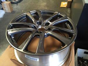 genuine honda hpd hfp wheels  civic crz accord  lug gunmetal enkei rims ebay
