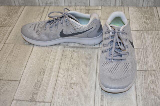 Nike Free Rn 2017 Running Shoe Men's Size 7, Wolf GreyDark Grey
