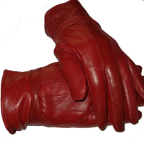 Frugale Donna Guanti In Pelle, 100% Pelle, In Diversi Colori, Nuovo-e, 100% Leder, In Verschiedenen Farben, Neu
